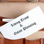 What are living trusts used for